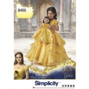 "8405 Simplicity Pattern: Child Costume and 18"" Doll Costume"